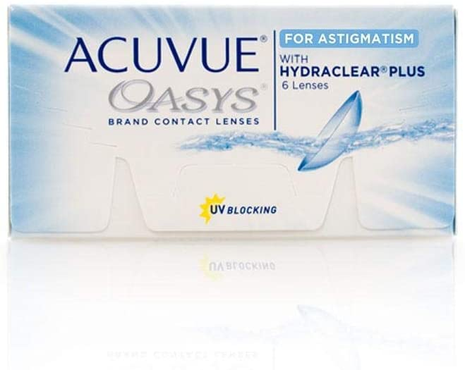 Acuvue Oasys Clear Lesnes - Power +3.50 - Monthly