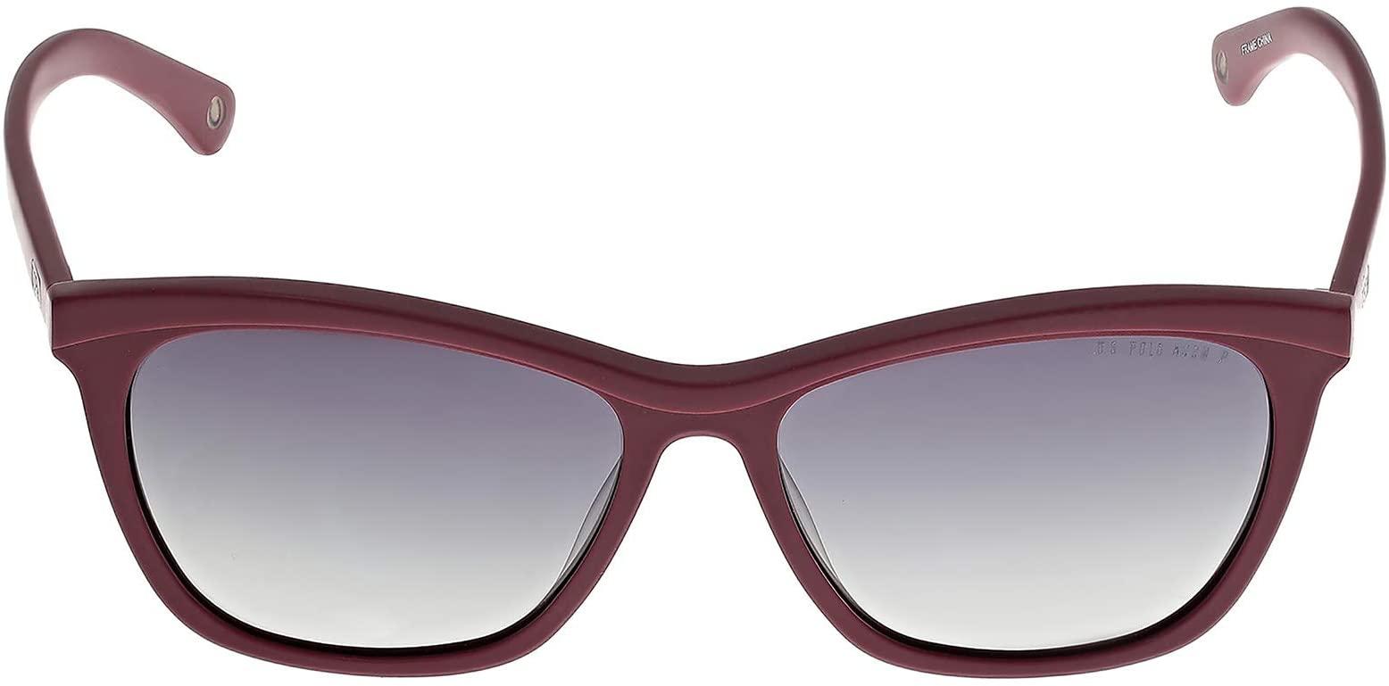 بولو الولايات المتحدة. اسن نظارة شمسية عصرية شبه مربعة واي فيرير للرجال- USPA778BURG - 56-15 -140 mm