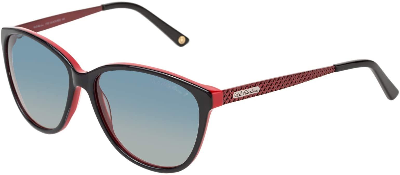 .يو. اس. بولو اسن نظارة شمسية للنساء - ازرق، 1702 BLK/Red