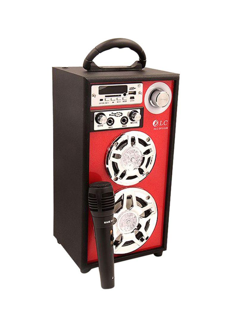 مكبر صوت محمول إسبايكر مزود بميكروفون XPS 13 أسود/أحمر