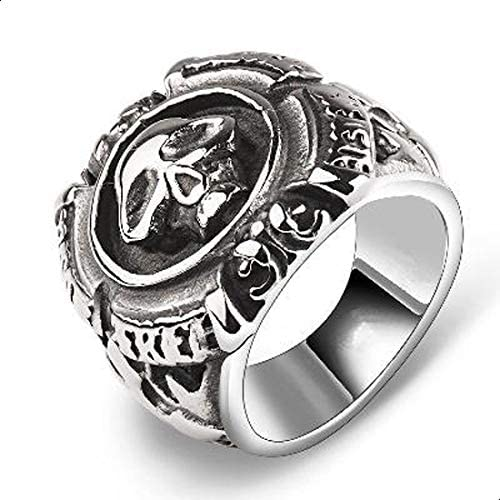 ring with a skull