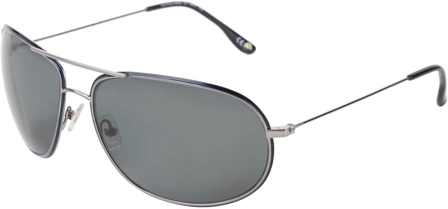 .يو. اس. بولو اسن نظارة شمسية للرجال - رمادي، 721 NVY
