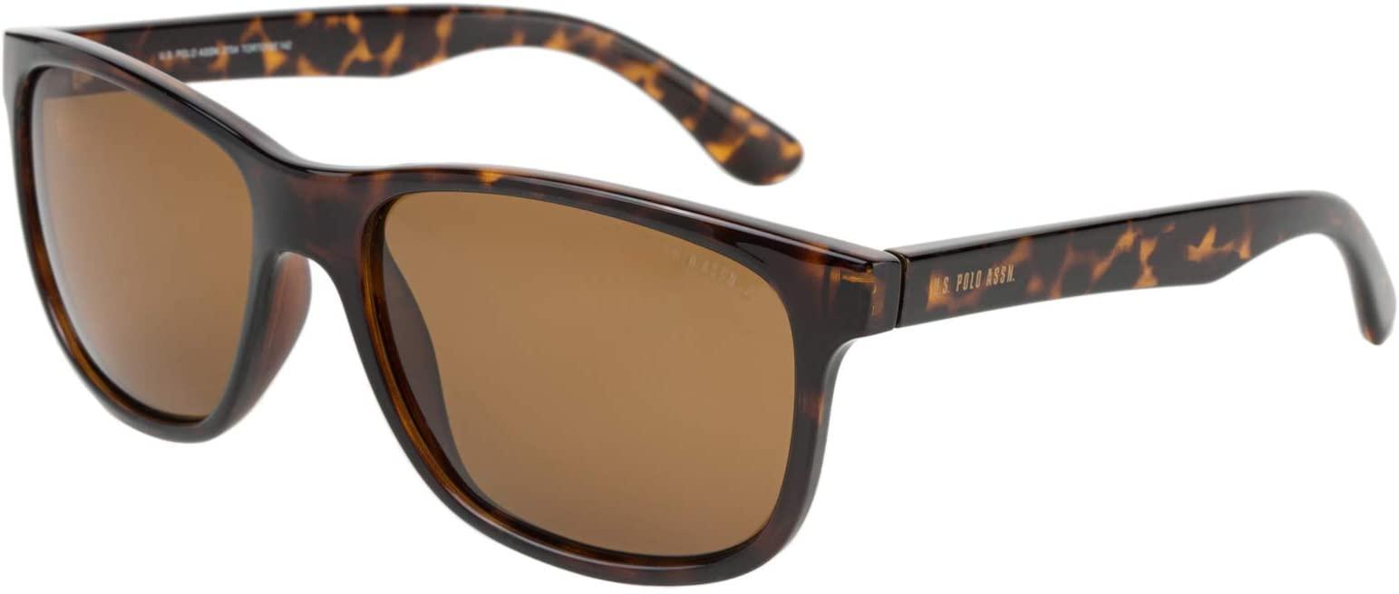.يو. اس. بولو اسن نظارة شمسية للرجال - بني، 2704 Tortoise