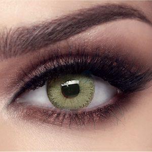 عدسات خضراء