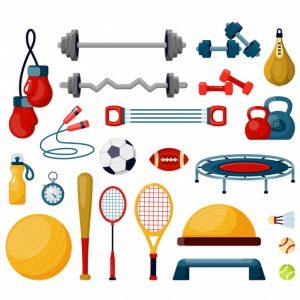 ادوات الرياضه